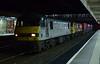 90048 & 90046, 4S45, Lancaster, Thurs 20 April 2017 - 2218.  The 1839 Daventry - Coatbridge Freightiner.