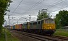 86639 & 86638, 4S88, Carnforth, Sat 1 July 2017 - 0443.  The 1613 Felixstowe - Coatbridge Freightliner, running 104 late after leaving Felixstowe 107 late.   As usual it had been diesel-hauled (by 70004) to Basford Hall.