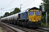 66623 Bill Bolsover, 6P62, Carnforth, Fri 14 July 2017 - 1932.  Freightliner's 1543 Carlisle Brunthill - Tunstead empty JGA cement tanks.