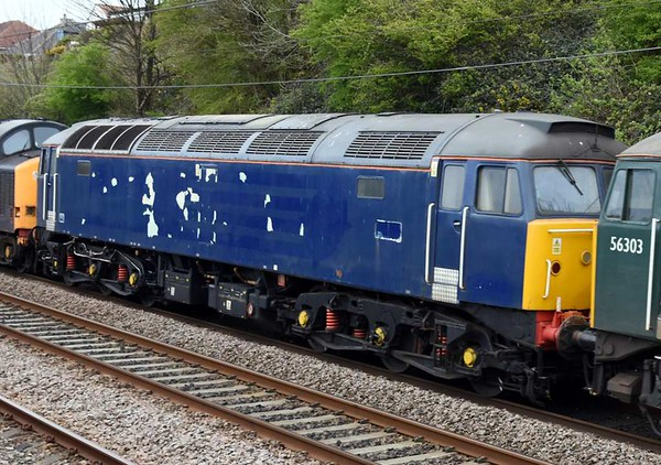 56303, 47813, 37601, 0M59, Hest Bank, Tues 11 April 2017 - 1705 2.  47813 had been DRS's last 47.