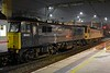 92044 Couperin & 86401 Mons Meg DIT, 1S26, Preston, Wed 29 March 2017 - 0323.  An unusual lash-up on the 2350 Euston - Edinburgh / Glasgow lowland Caledonian Sleeper.  86401 was returning to Scotland for its normal Sleeper ECS duties.  It had worked the previous night's 1M16 after 92023 failed before departure on 1M11 and had to be replaced by 92010, which should have worked 1M16.