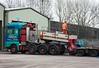 Allelys Heavy Haulage MAN TGA T800 AHH, Brunthill, Carlisle, Tues 24 January 2017