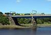 90048, 90043 & 90042 (dead), 4M83, Lancaster, Sat 8 July 2017 - 1554.  The 1033 Coatbridge - Crewe Basford Hall Freightliner, an unusual working.
