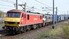 90018 The Pride of Bellshill & 90024, 4M25, Carnforth, Mon 3 April 2017 - 1102.  DB Cargo's 0606 Mossend - Daventry.