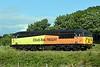 56094, 0Z94, Carnforth, Wed 12 July 2017 - 1652.  Colas Rail's 1100 Washwood Heath - Carlisle yard move running 105 late.