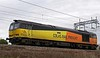 60076 Dunbar, 0M60, Carnforth, Mon 6 February 2017 - 1217.  Colas Rail's 1025 Carlisle yard - Toton move.