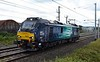 88007 Electra, 0Z44, Carnforth, Tues 8 August 2017 - 1247.  Arriving on a  test run from and back to Kingmoor.