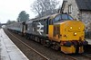 37403 Isle of Mull, 2C47, Sillverdale, Tues 9 January 2018 - 1047.  Northern's 1004 Preston - Barrow, formed of 5995, 6117, 6173 & DBSO 9709.