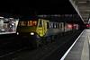 90042 & 90048, 4S45, Lancaster, Sun 14 October 2018- 2203. The 1839 Daventry - Coatbridge Freightliner.