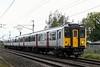 317506, 5N09, Carnforth, Mon 8 October 2018 - 1545.  The Rail Operatons Group's 0930 Ilford EMU depot - Kilmarnock Wabtec move.