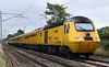 43062 John Armitt & 43014 The Railway Observer, 1Q26, Carnforth, Wed 15 August 2018 - 1059.  Network Rail's 0735 Craigentinny - Crewe LNWR New Manangement Train.