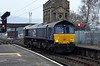 66303, 0Z70, Carnforth, Thurs 28 February 2019 - 1159.  A test / trainer from Kingmoor (0800) via the coast.  It returned via Shap.