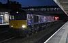 66302 Endeavour & 66429, 6C02, Lancaster, Thurs 19 September 2019 1 - 0614.  DRS's 0418 Basford Hall - Carlisle yard departmental.