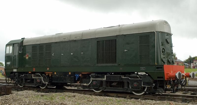 D8007 (20007), Swanwick Junction, 24 June 2007