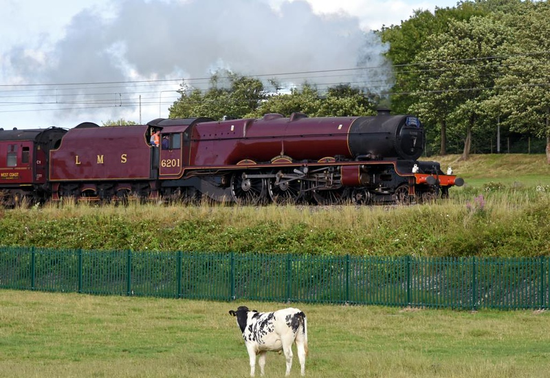 6201 Princess Elizabeth, 1Z25, Carnforth, Sat 20 July 2019 - 1808.