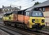 70804, 0J37, Carnforth, Thurs 7 March 2019 - 1245.  Colas's 1003 Carlisle yard - Coleham sidings, Shrewsbury, move.