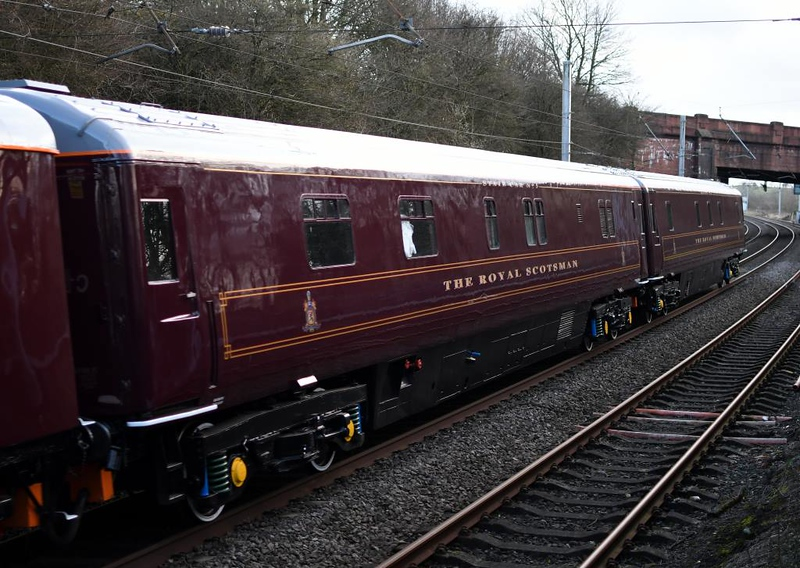 66726 Sheffield Wednesday, 5S66, Hest Bank, Sun 10 March 2019 10.  State car No 5 99968.