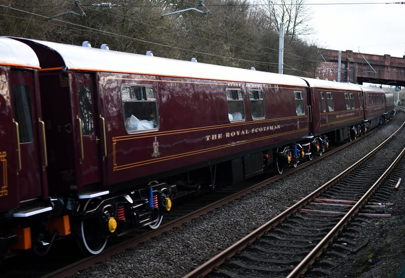 66726 Sheffield Wednesday, 5S66, Hest Bank, Sun 10 March 2019 8.  State car No 3 99963.