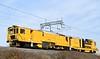 Stoneblower DR 80213, 6U33, Carnforth, Mon 23 March 2020 - 1115.  Network Rail's 1042 Shap summit - Preston move.