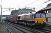 66013, 4M35, Carnforth, Wed 12 August 2020 - 0613.  DB's 0213 Mossend - Seaforth.