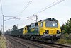 70017, 6H51, Carnforth, Tues 1 December 2012 - 1208.  Freightliner's 1104 Hardendale quarry - Tunstead sidings.