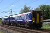 156485, 2C43, Carnforth, Mon 1 June 2020 - 1212.  Northern's 1206 Lancaster - Barrow.  The former ScotRail DMU had previously worked 2C44 0808 Carlisle - Lancaster.