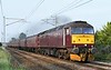 47854 Diamond Jubilee T&T 57316, 1Z56, Carnforth, Tues 11 August 2020 - 1830.  WCRC's 1520 Carlisle - Chester Dalesman.  35018 had worked it between Preston and Carnforth.  These diesels had worked it between Chester and Preston. The eleven coaches were 99128 Pamela, 99125 Jessica, kitchen car 1961, 3143 Patricia, 99122 Alexandra, 3093 Florence, buffet 1861, 5035, 99328, 4973 & 99304.  WCRC have been using ths rake for all their day trips since the Daleman on 30th July.