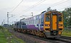 158861 Magna Carta 800 Lincoln 1215, 2H29, Carnforth, Tues 11 August 2020 - 0629.  Northern's 0522 Skipton - Lancaster.  The 2H48 Lancaster - Skipton was cancelled at Lancaster due to flooding east of Carnforth, as was the 2H05  0856 Skipton - Lancaster.  Services resumed when 158861 worked 2Y60 1042 Lancaster - Skipton.  No trains ran between Lancaster and Morecambe today.  The disruption followed an electrical storm over Carnforth which had lasted from midnight until 0500 with continuous thunder, lightning and torrential rain.