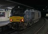 68003 Astute T&T 68034, 3J11, Carnforth, Wed 25 November 2020 2.  Passing signal CS2.
