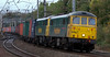 86621 & 86607, 4M74, Lancaster, 9 October 2008 - 1741     The 1300 Coatbridge - Crewe Freightliner.