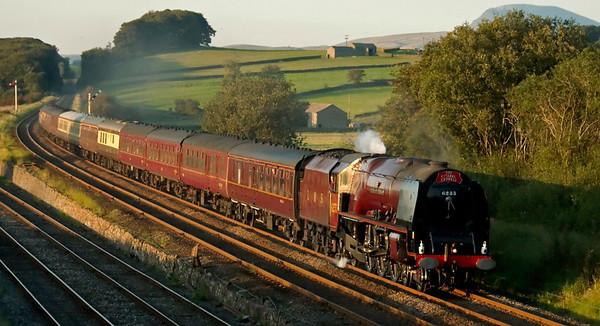 6233 Duchess of Sutherland, 1Z63, Settle Junction, 20 September 2008 - 1819 2