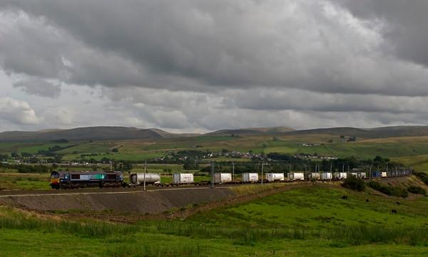 66429, 4S44, Greenholme, 15 August 2008 - 1610    DRS's 1214 Daventry - Coatbridge.