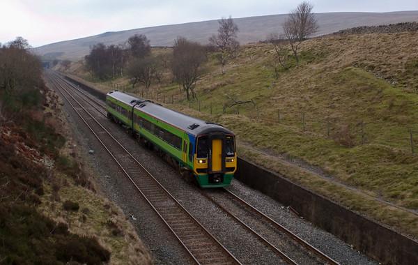 158848, Blea Moor, 8 February 2008 - 1312    Northern's 1151 Carlisle - Leeds.