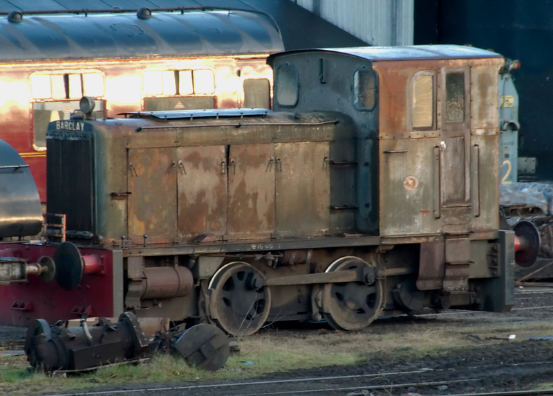 Barclay 0-4-0DM 401 / 1956, Carnforth, 5 April 2008