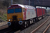 57310 Kyrano, 6C19, 27 March 2008 - 1416   Colas's 1025 Chirk - Carlisle timber empties.