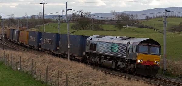 66402, 4S44, Penrith, 17 March 2008 - 1613    DRS's 1212 Daventry - Coatbridge.