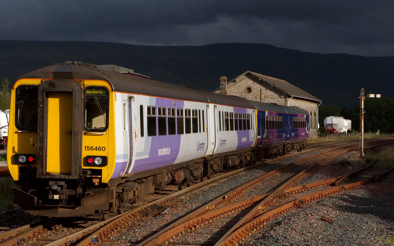 156468 & 156460, Kirkby Stephen, 10 August 2008 - 1840     Northern's 1730 Carlisle - Blackpool North Dalesrail service.