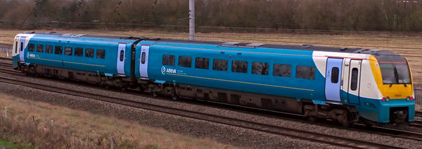 175011, Winwick, 18 December 2008 - 1425    Arriva Trains Wales's 1350 Manchester Piccadilly - Llandudno.