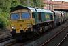 66554, 4Z06, Hest Bank, 4 July 2008 - 1914   Freightliner's 1800 Crewe - Carlisle mgr empties.