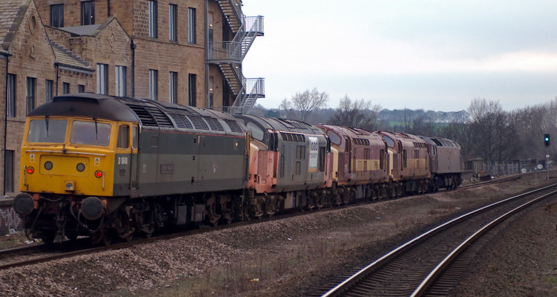 47804, 37668, 37712, 37710 & 47851 Traction Magazine, Mirfield, 28 January 2008 - 1520 6