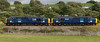 37688 Kingmoor TMD & 37667, 0C52, Carnforth, 8 July 2008 - 1609    The 37s return to Sellafield after delivering a flask to Heysham Power Station.