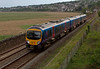 185119, Grange-over-Sands, 26 May 2008 - 1758    FTPE's 1706 Barrow - Machester Airport leaves Grange.