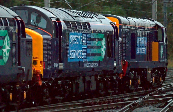 37229 Jonty Jarvis, 37604 & 20314, 0Z38, Carnforth, 10 October 2008 - 1748 2