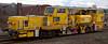 DR 77323, Carnforth, 10 April 2008 - 1157    Fastline Plasser & Theurer USP 5000C ballast regulator.