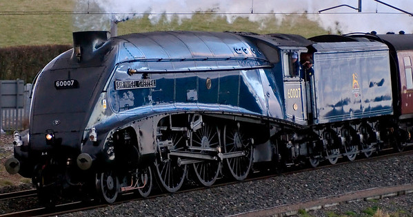 60007 Sir Nigel Gresley, Penrith, 1 November 2008 - 1550 2