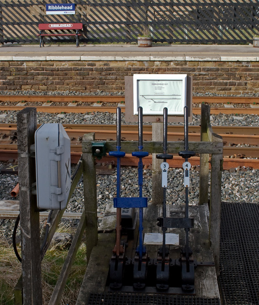 Ribblehead ground frame, 9 April 2008