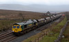 66582, 4S11, Blea Moor, 8 February 2008 - 1227    Freightliner's 0500 Ratcliffe Power Station - Killoch empty mgr.