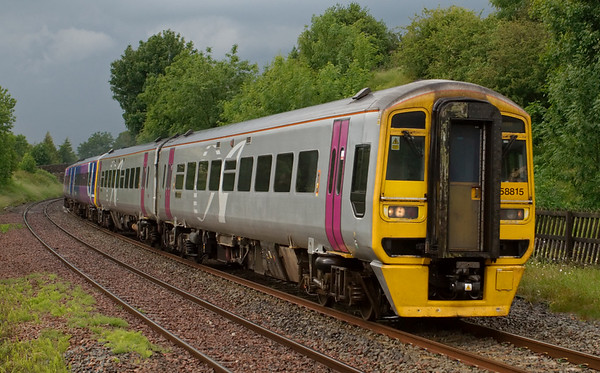 158815 & 158903, Long Preston, 5 July 2008 - 1616    Northern's 1426 Carlisle - Leeds.