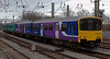 150146 & 156497, Preston, 1 March 2008 - 1224    Northern's 1037 Buxton - Blackpool North.