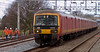 325005 & 325004, 1A32, Acton Bridge, 6 March 2008 - 1238    The 1225 Warrington - Willesden mail passes track workers.